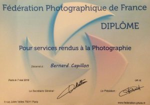 Diplome PCSG Bernard Capillon (1 sur 1)